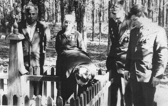 Место гибели Попудренко