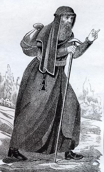Чернец Покровского монастыря, монах, Климовский район
