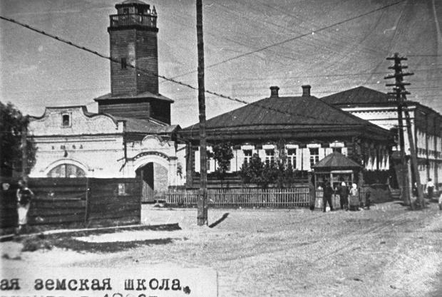 Климовская ратуша и земская щкола начала 20 века, http://klimovo-rmuk.3dn.ru/index/klimovo/0-102
