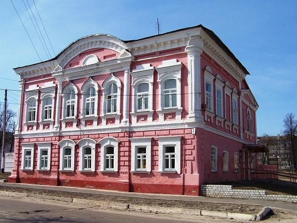 Здание банка ныне пенсионного фонда, http://klimovo-rmuk.3dn.ru/index/klimovo/0-102