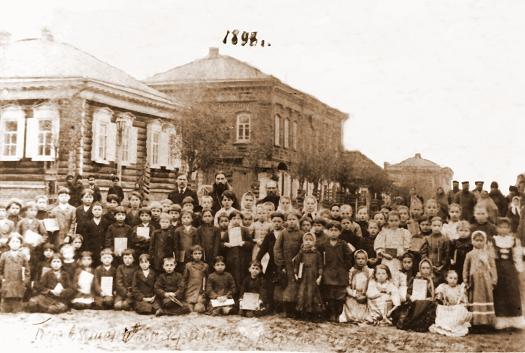 Учащиеся Климовской земской щколы, 1898 год, http://klimovo-rmuk.3dn.ru/index/klimovo/0-102